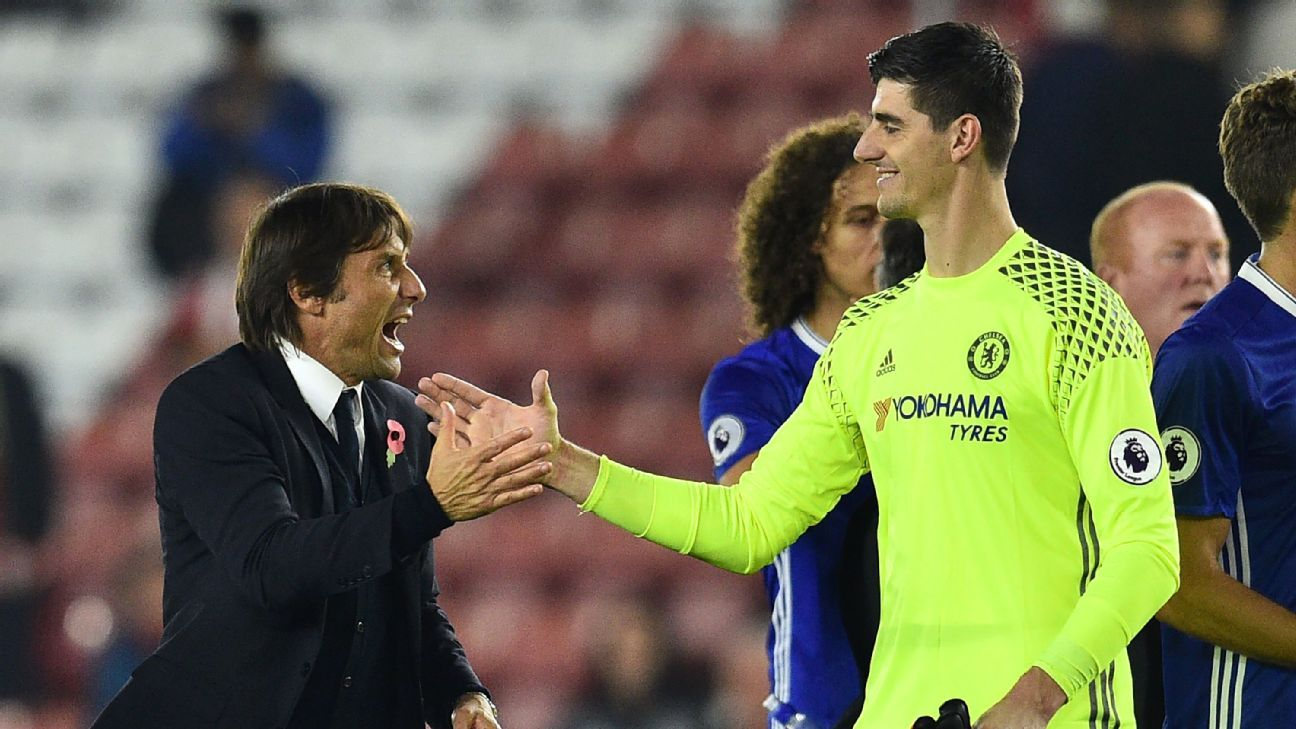 Chelsea s Thibaut Courtois I never had anything with Real Madrid