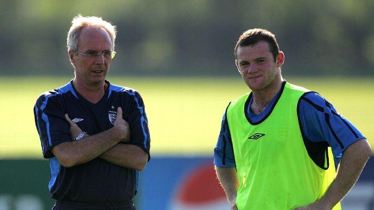 Sven Goran Eriksson & Wayne Rooney