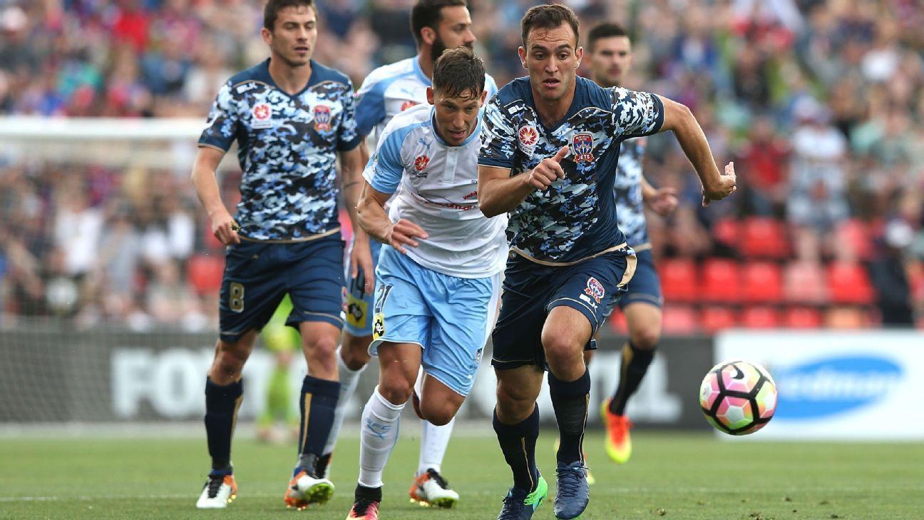 Newcastle Jets' Benjamin Kantarovski