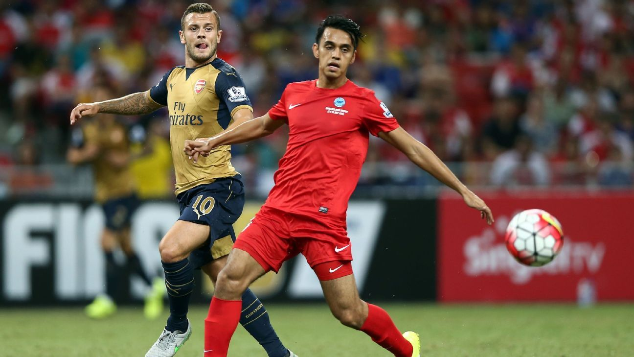 Singapore midfielder Shahdan Sulaiman