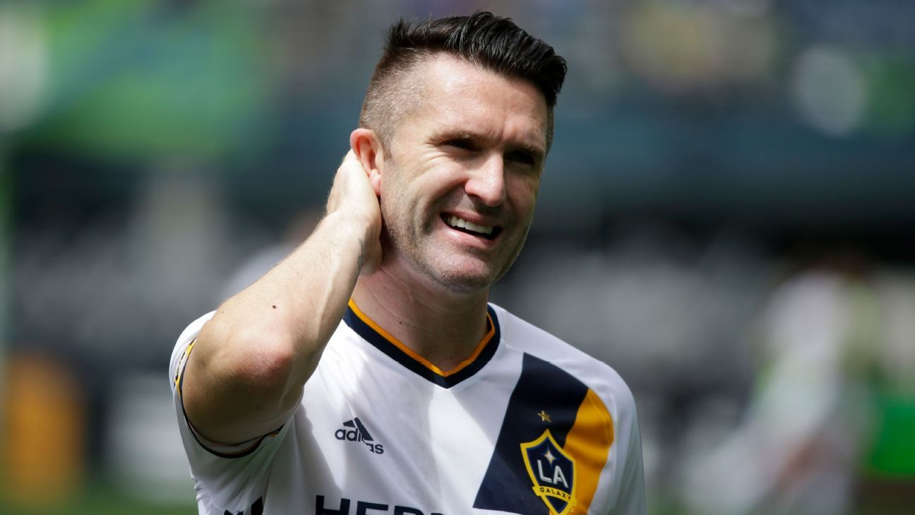 Robbie Keane scored 10 goals for LA Galaxy in 2016.