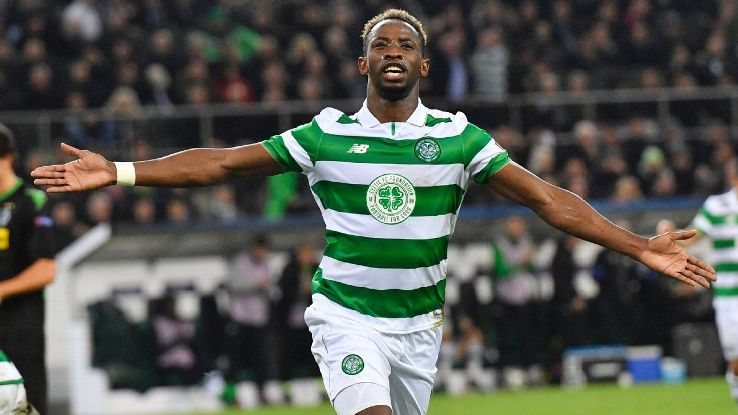 Moussa Dembele salvaged a point for Celtic on Tuesday.