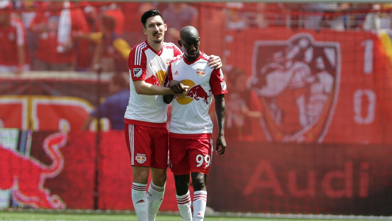 Sacha Kljestan and Bradley Wright-Phillips
