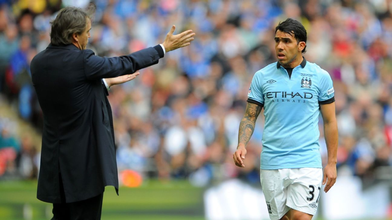 Tevez Man City Tenner