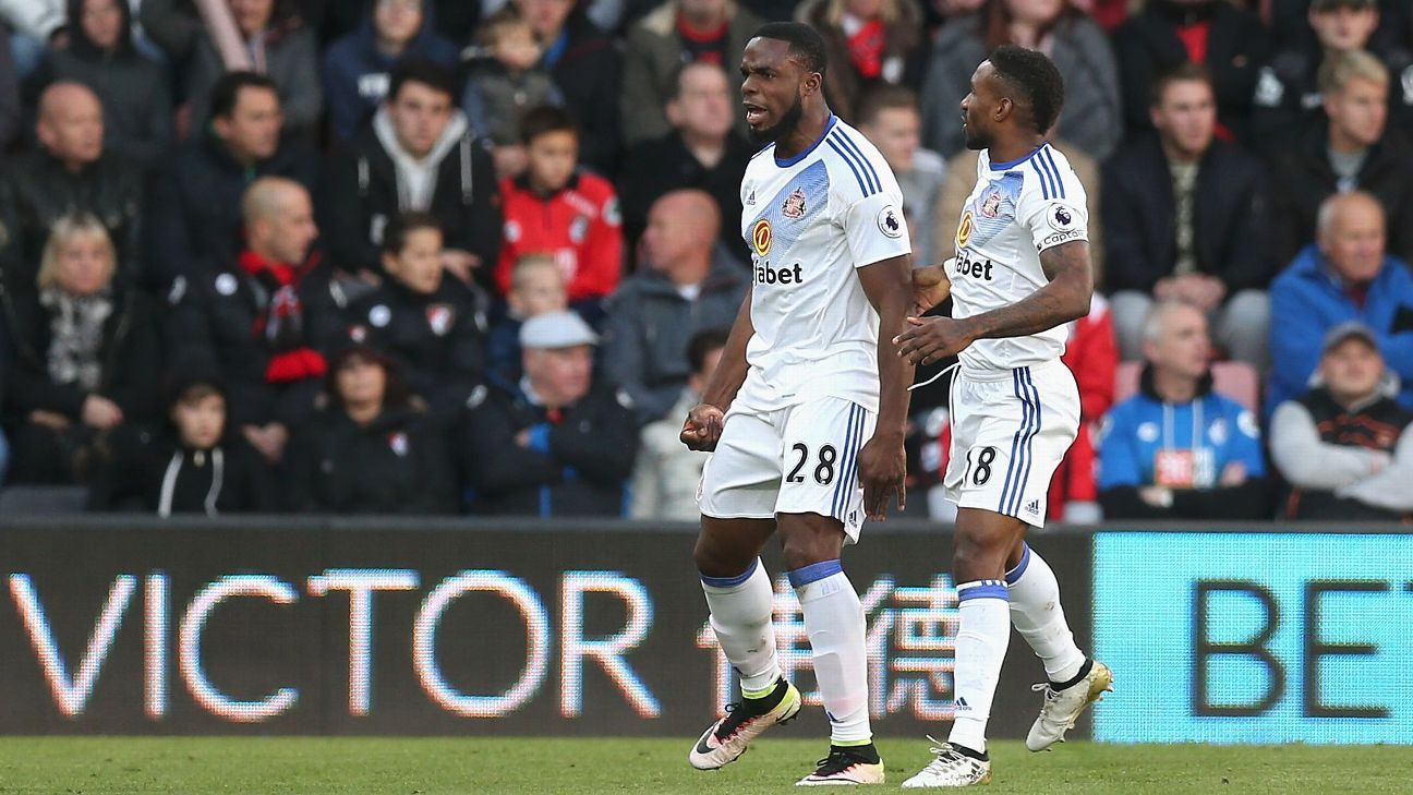 Victor Anichebe inspired Sunderland to a first league win on Saturday.