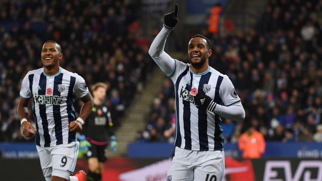 West Brom's Matt Phillips
