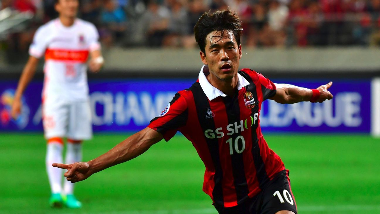 FC Seoul striker Park Chu-Young