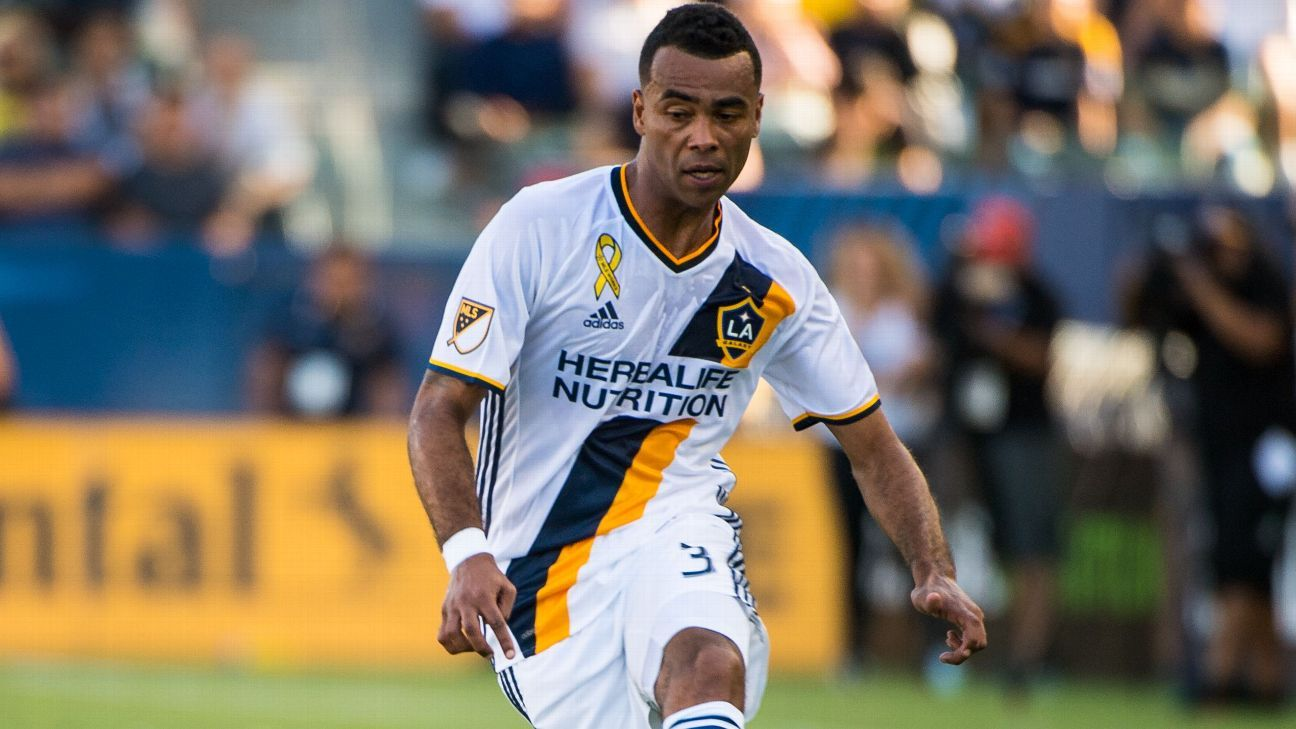 Ashely Cole faces month on sidelines for LA Galaxy with calf strain