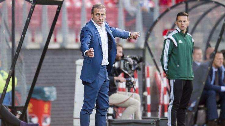 Istanbul Basaksehir coach Abdullah Avci