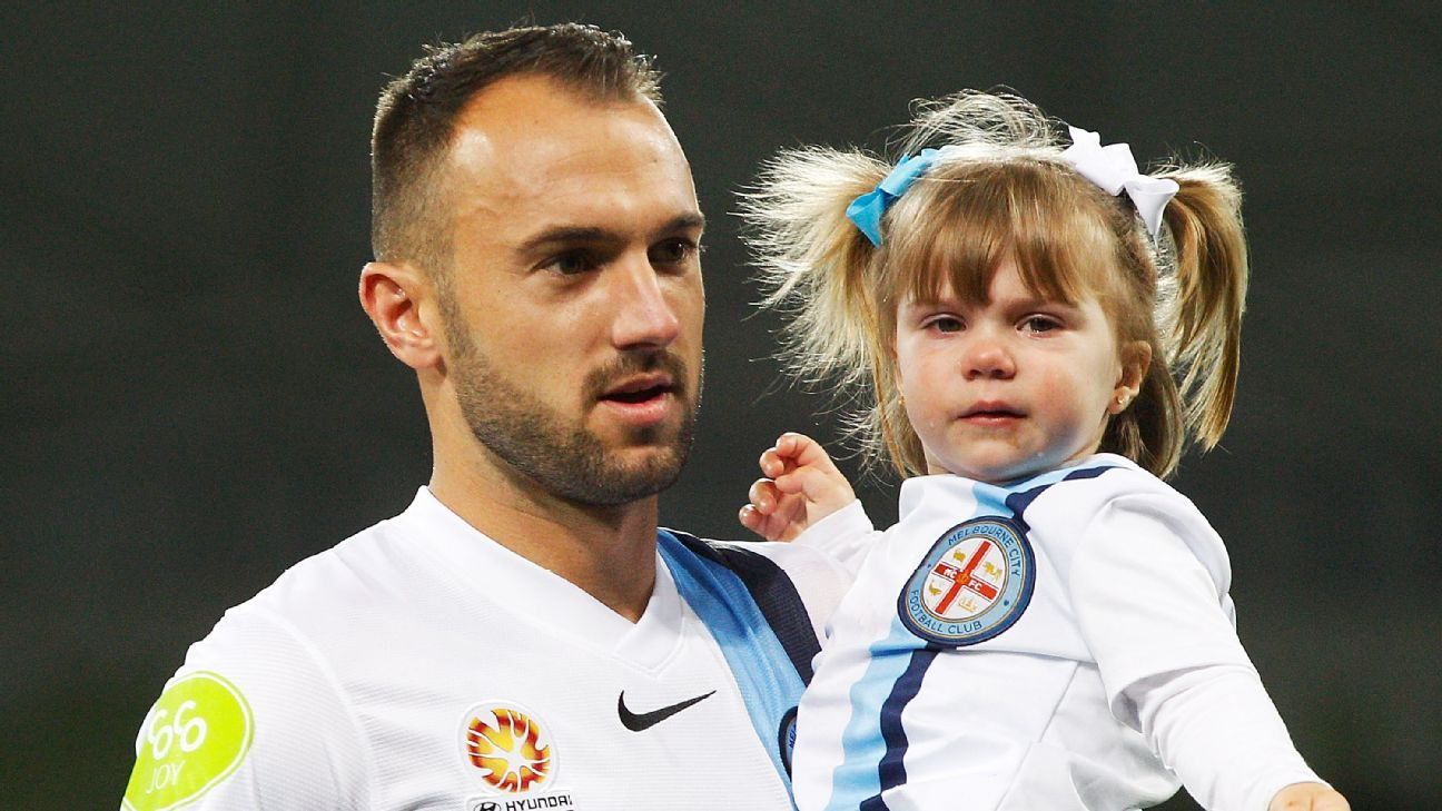 Ivan Franjic of Melbourne City