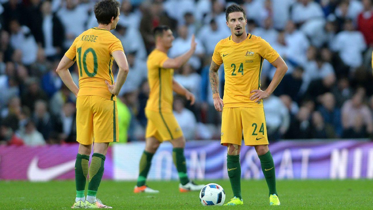 Australia striker Jamie Maclaren