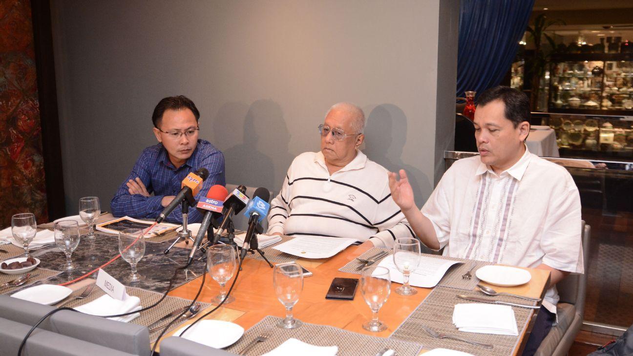 FAM General Secretary Dato' Haji Hamidin Haji Mohd Amin