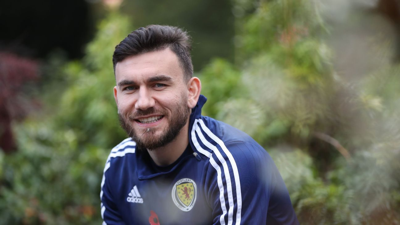 Robert Snodgrass of Scotland is eager to take bragging rights from England.
