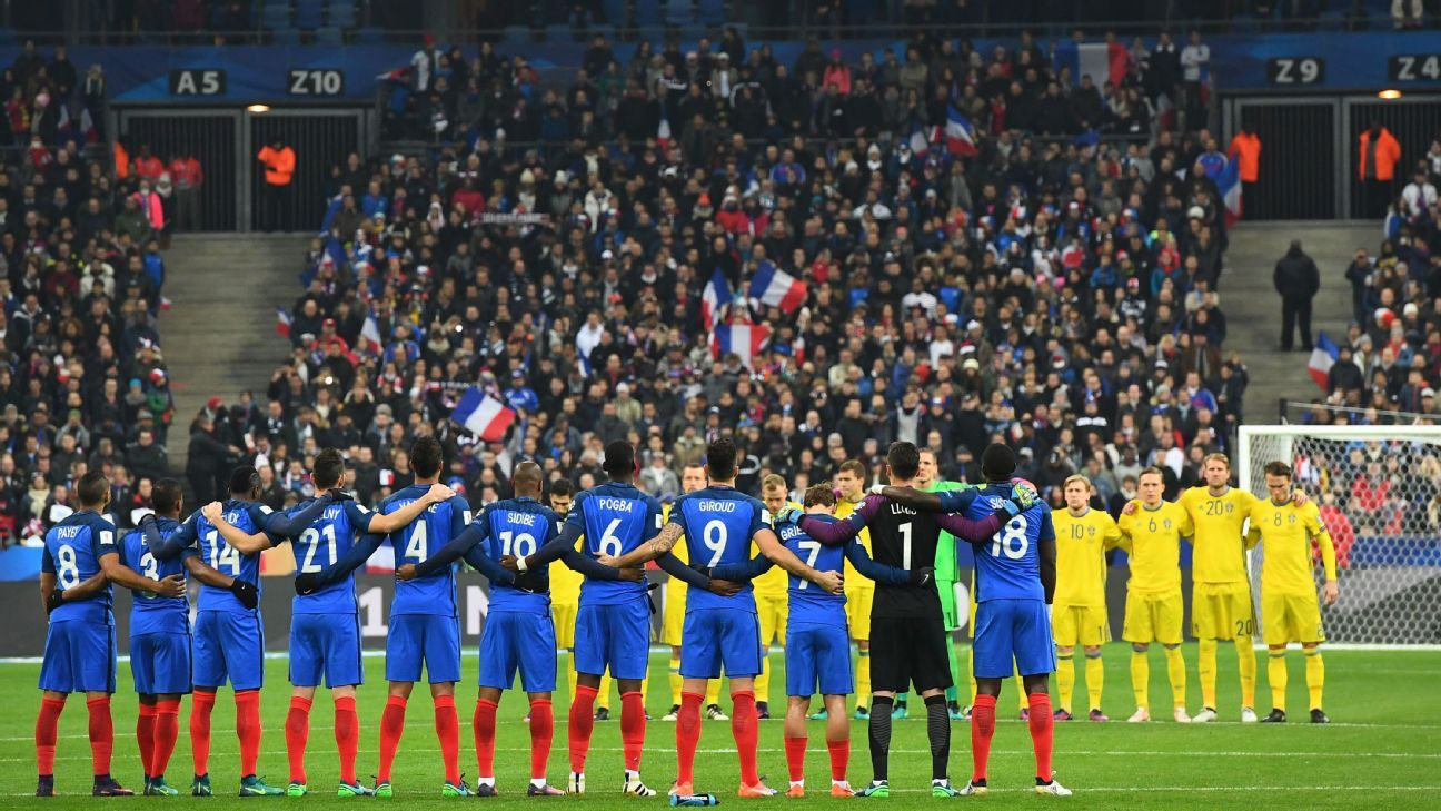 France moment of silence