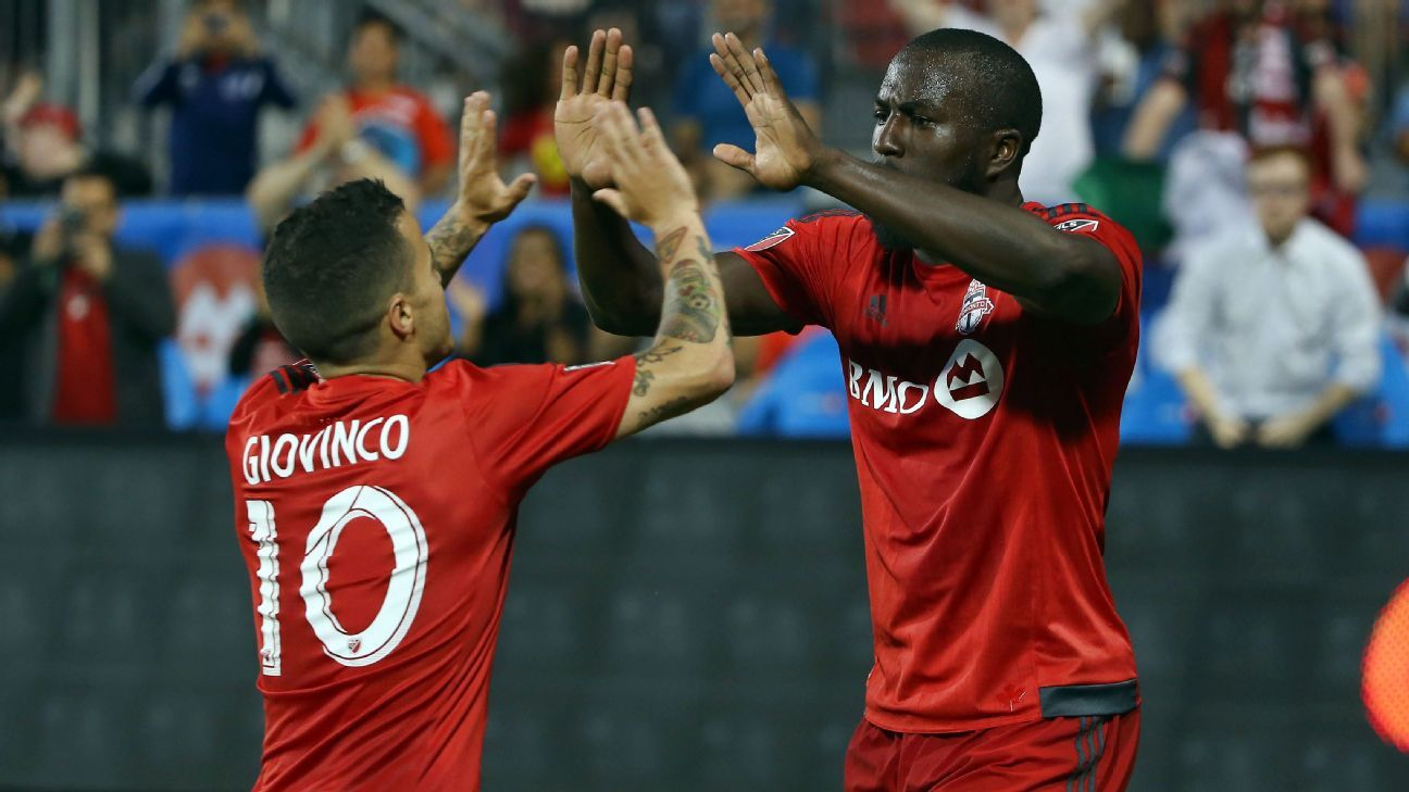 Sebastian Giovinco and Jozy Altidore