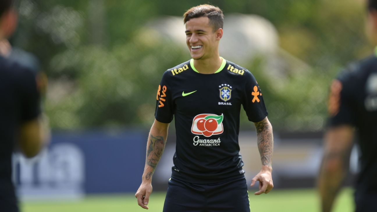 Liverpool to jet Philippe Coutinho and Roberto Firmino back - source