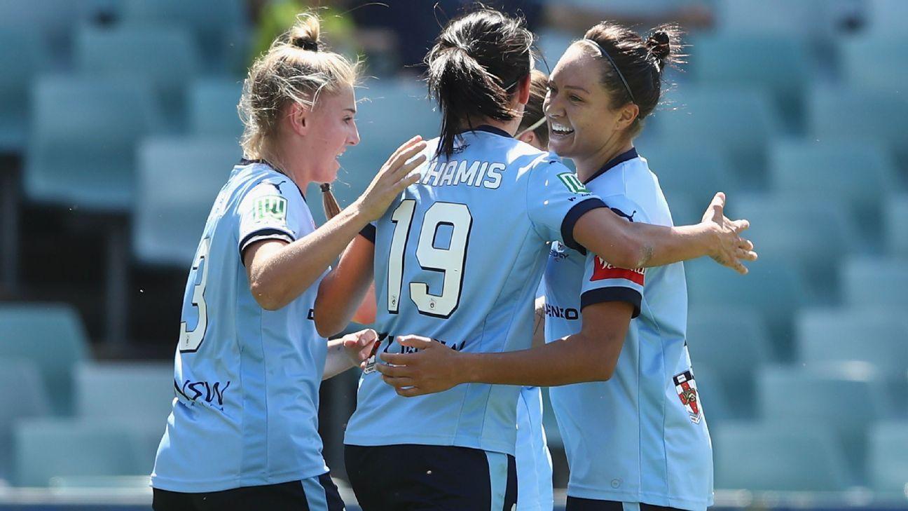Sydney FC's Leena Khamis