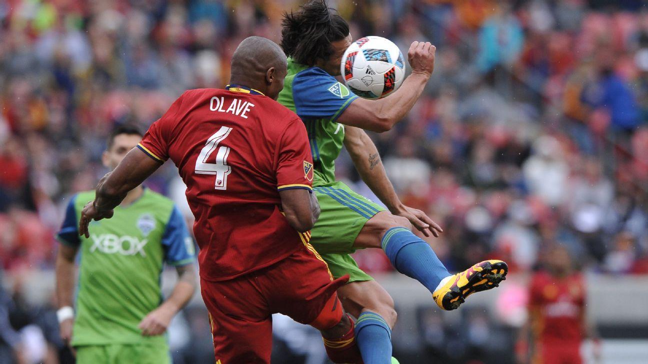 Real Salt Lake defender Jamison Olave