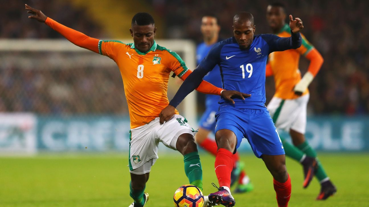France could not find a goal against Ivory Coast on Tuesday.
