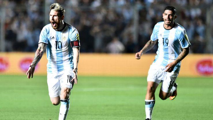 Messi celeb vs Colombia 161115