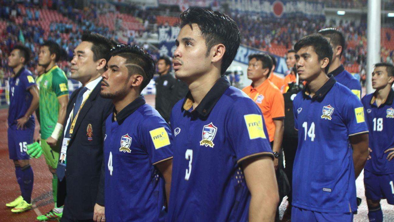 Thailand defender Theerathon Bunmathan