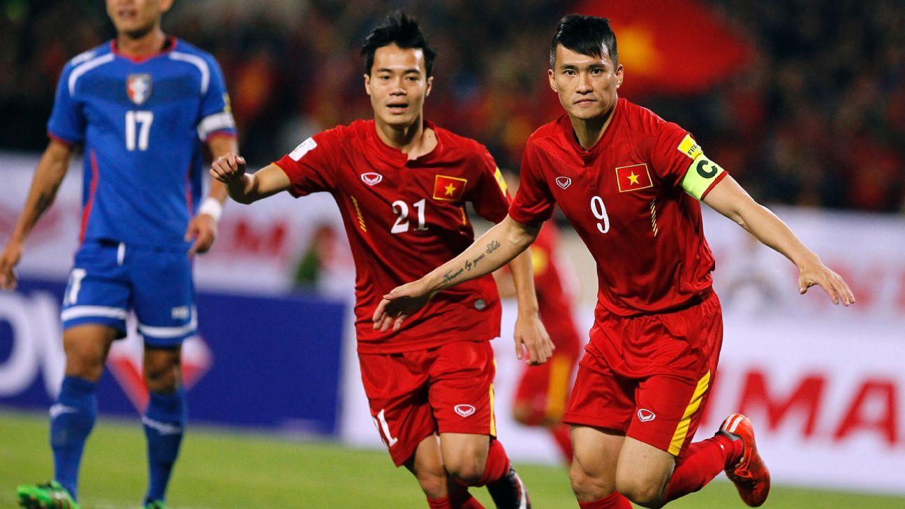 Vietnam striker Le Cong Vinh