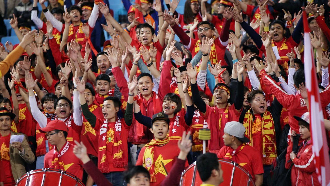 Vietnam supporters