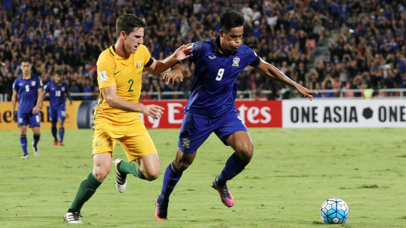 Thailand striker Siroch Chatthong