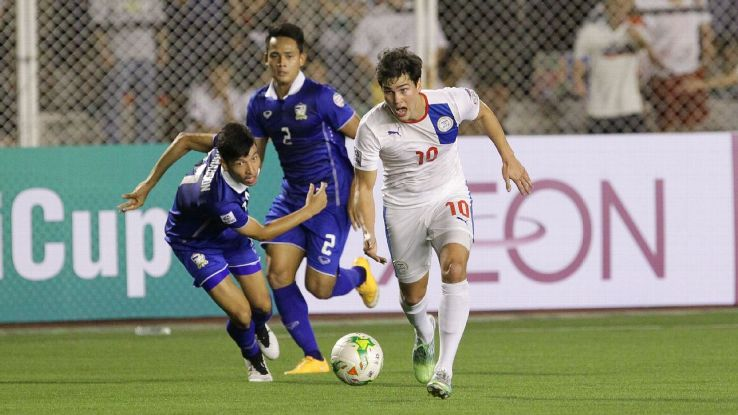 Philippines striker Phil Younghusband