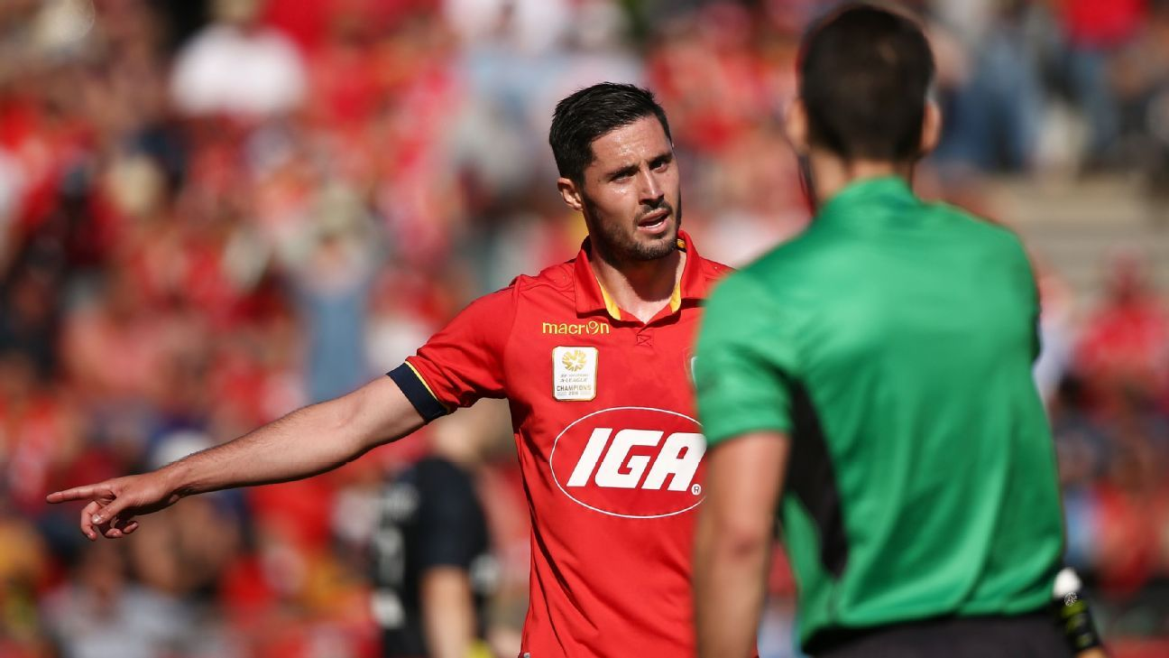 Adelaide United's Dylan McGowan