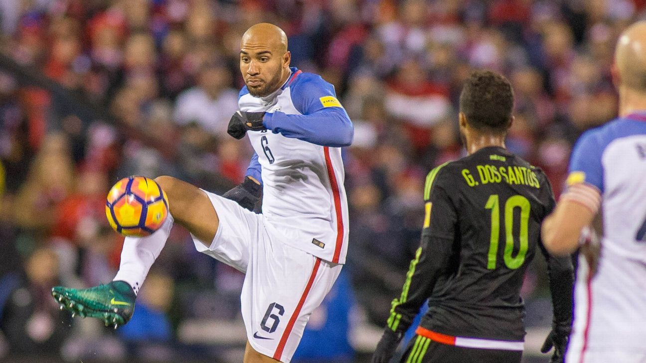 John Brooks struggled during the first two games of the final round of 2018 World Cup Qualifying, but does he keep his place in the projected starting team for Russia?