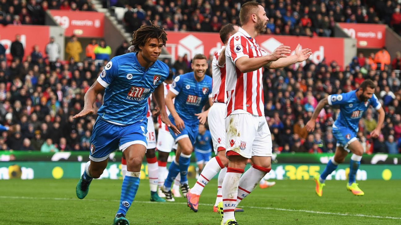 Nathan Ake netted Bournemouth's winner.