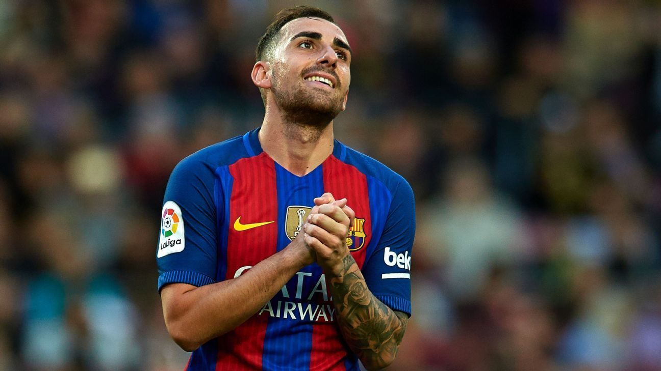 Paco Alcacer rues missed chance against Malaga.