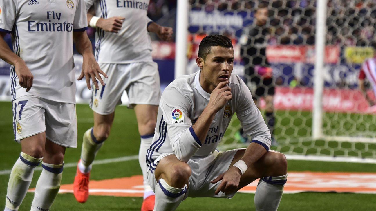Cristiano Ronaldo's three goals were all Real Madrid needed to win.