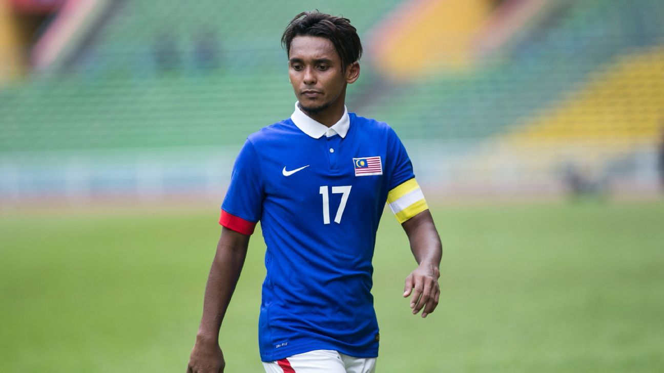 Malaysia captain Amri Yahyah
