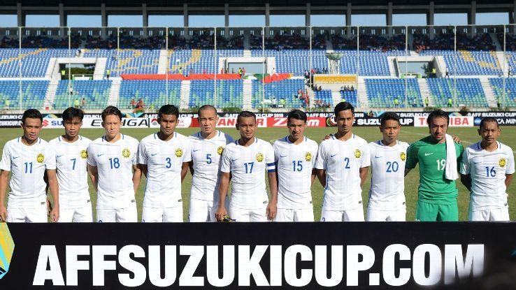Malaysia team v Cambodia in AFF
