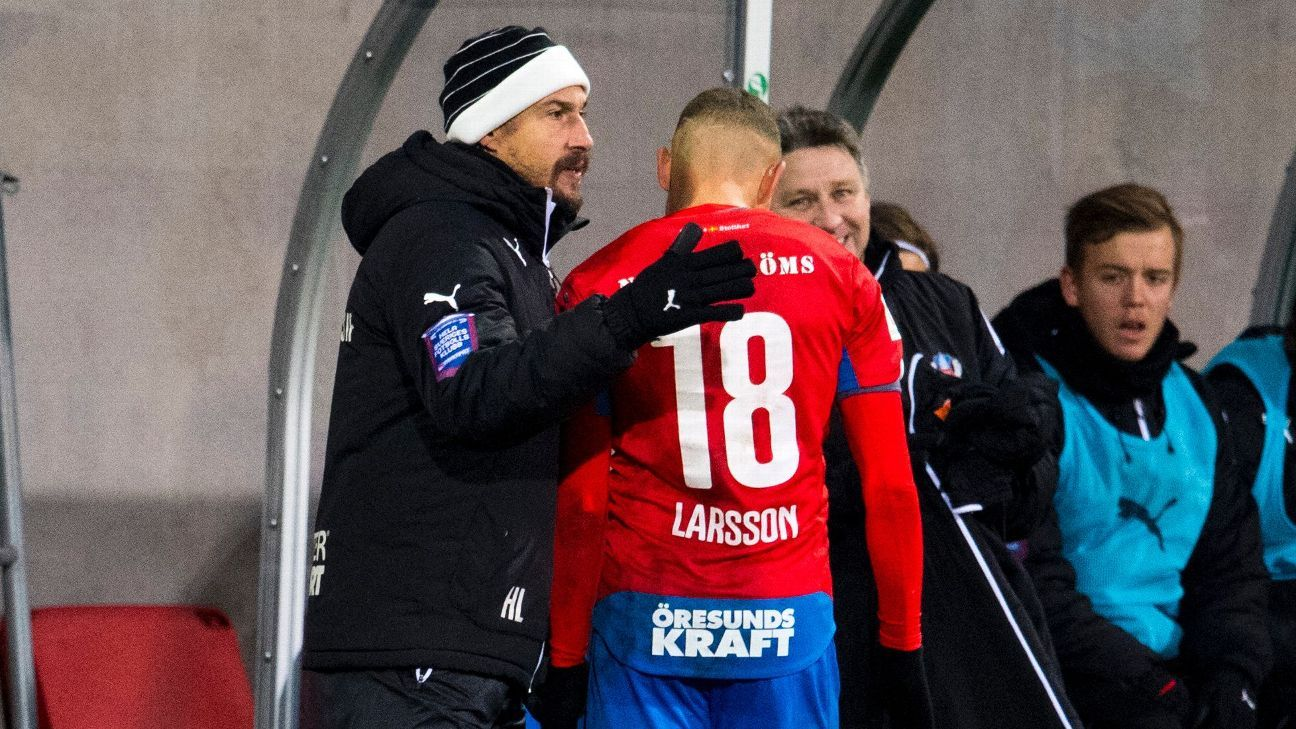 Henrik and Jordan Larsson