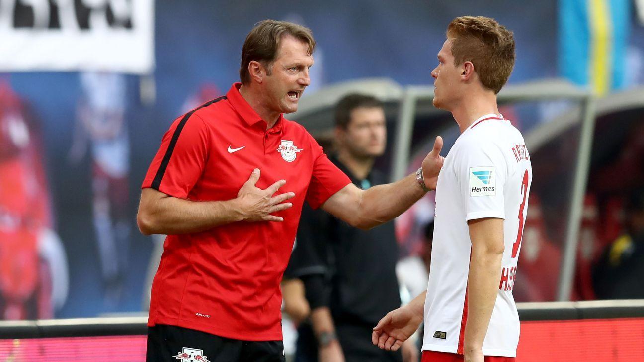 RB Leipzig coach Ralph Hasenhuettl