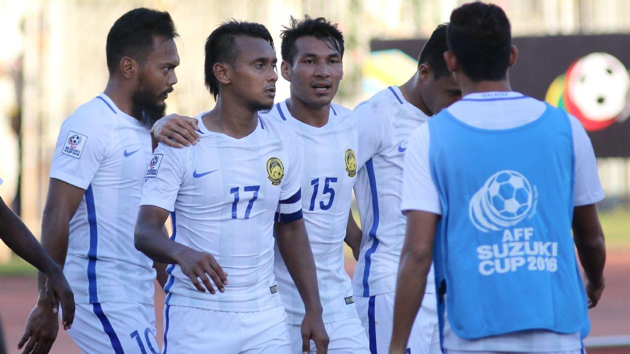 Malaysia's Amri Yahyah vs. Cambodia