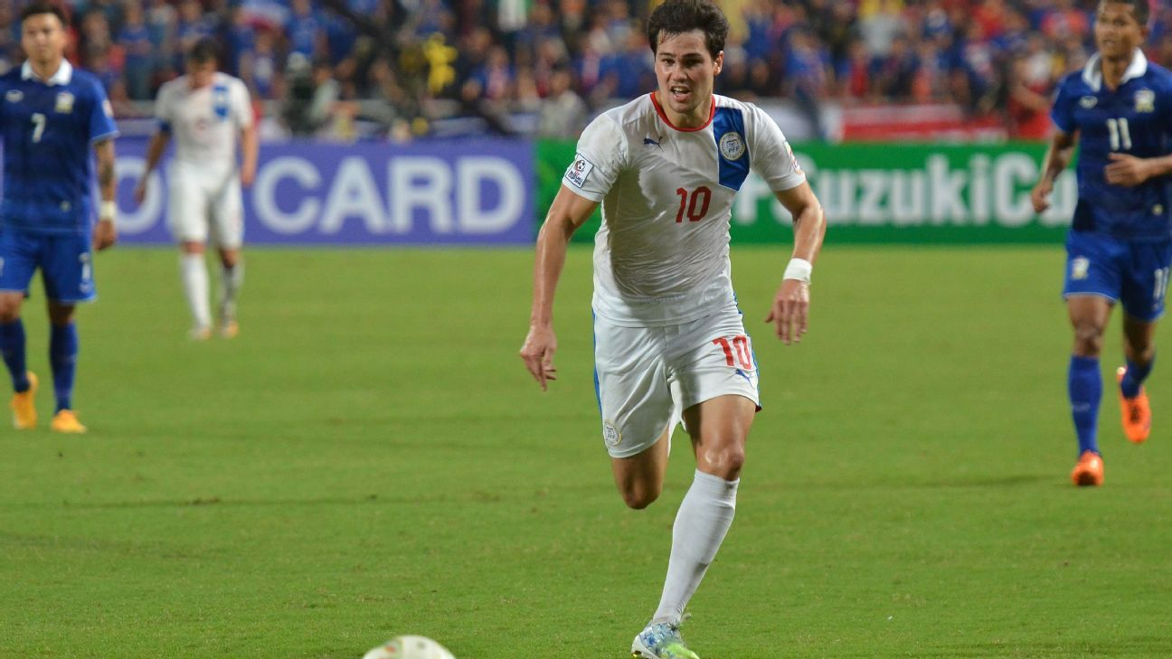 Philippines captain Phil Younghusband