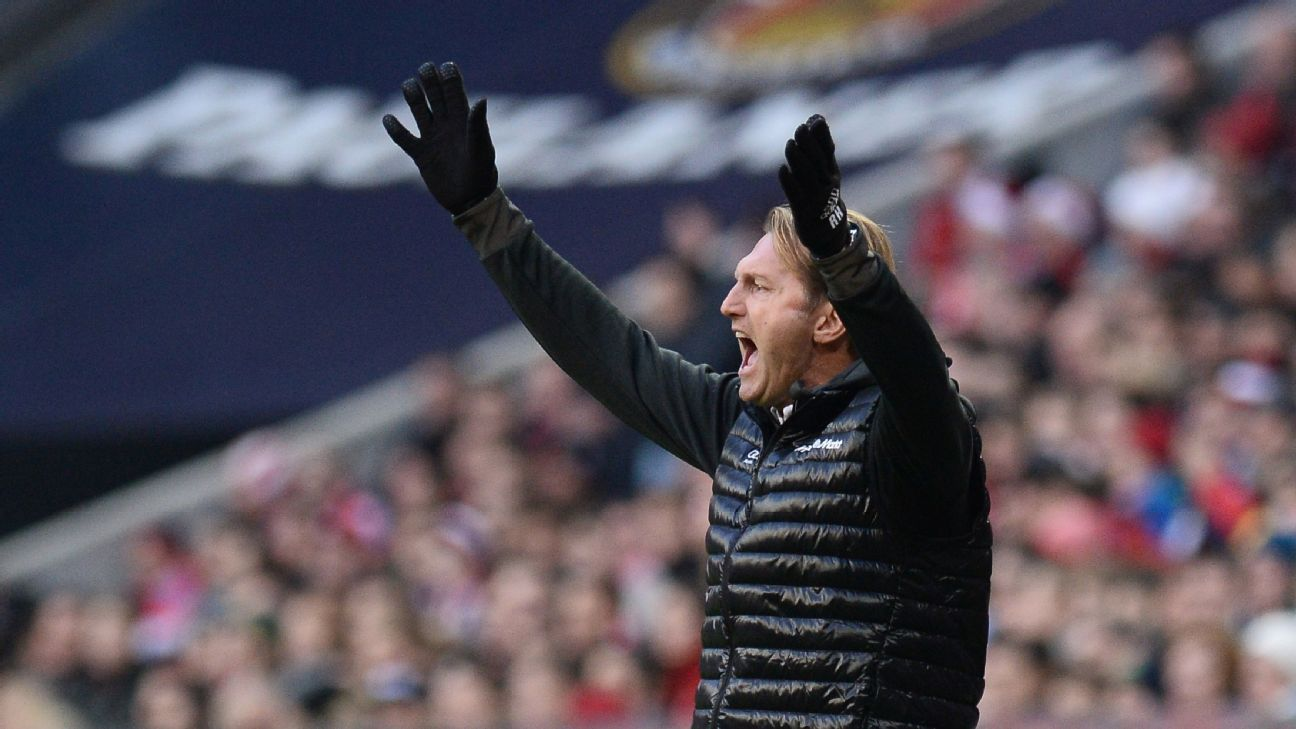 Ralph Hasenhuttl has left RB Leipzig by mutual consent.
