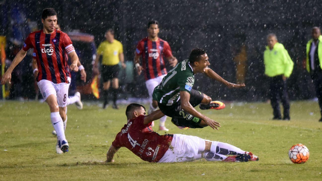Cerro Porteno vs. Atletico Nacional