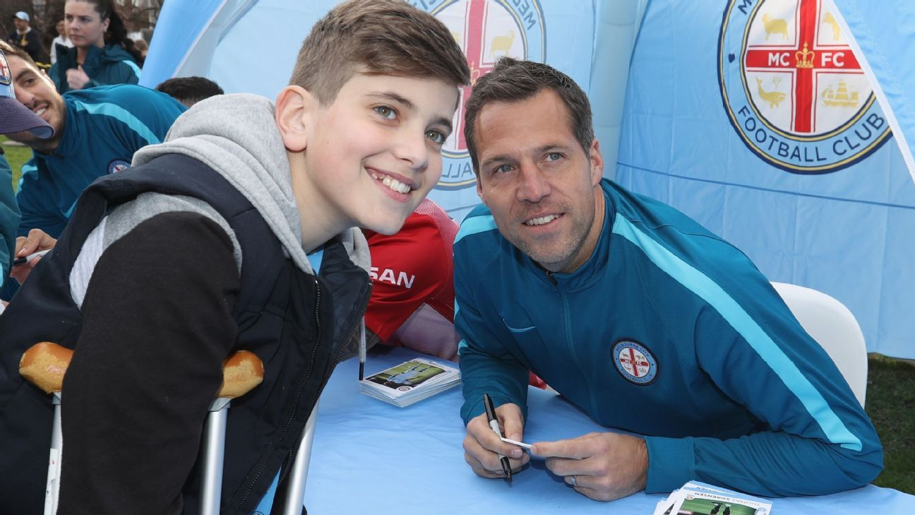 Melbourne City goalkeeper Thomas Sorensen