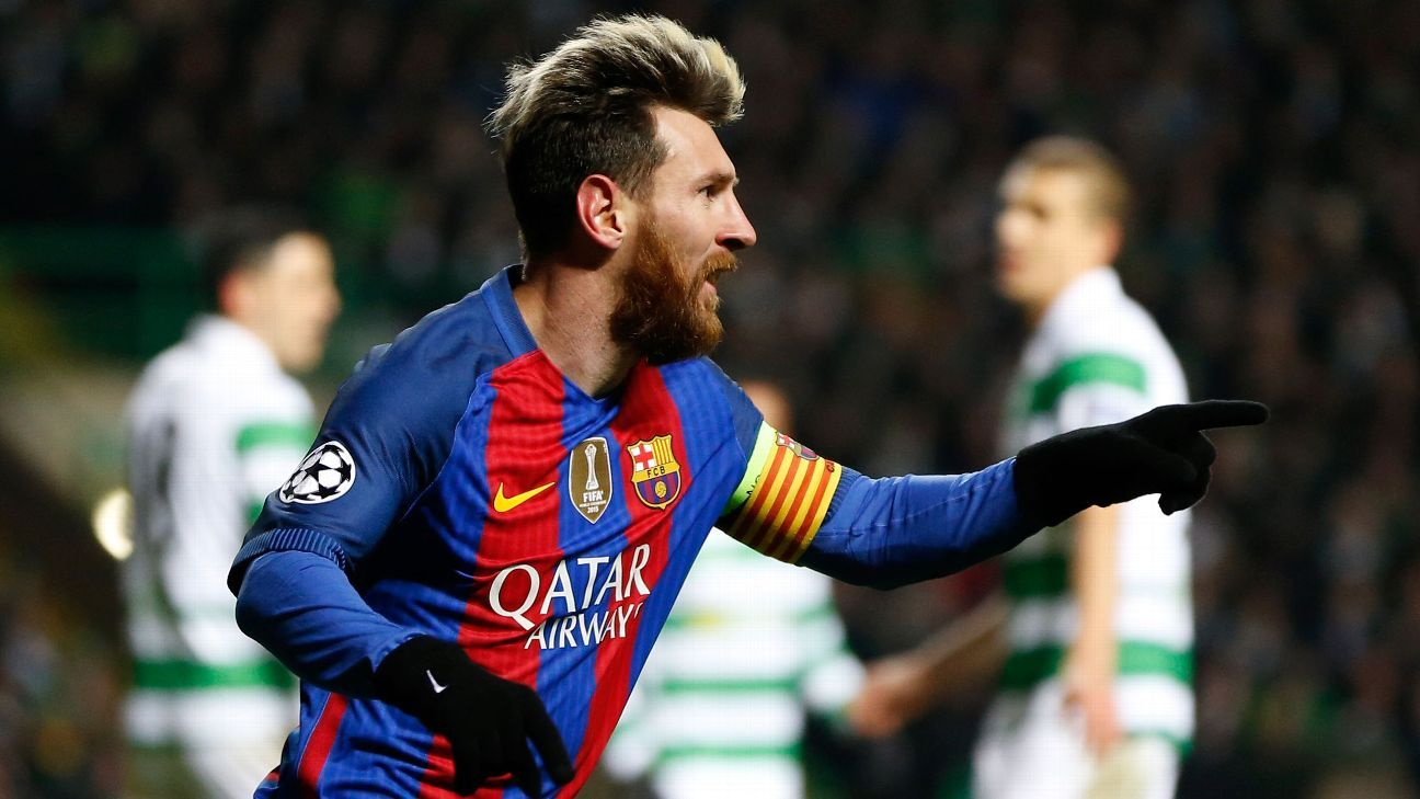 Lionel Messi was the star of the show in Barcelona's defeat of Celtic on Wednesday.