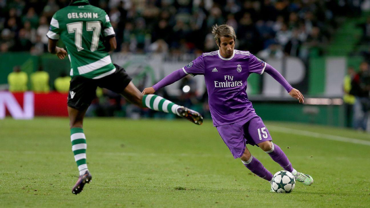 Real Madrid defender Fabio Coentrao