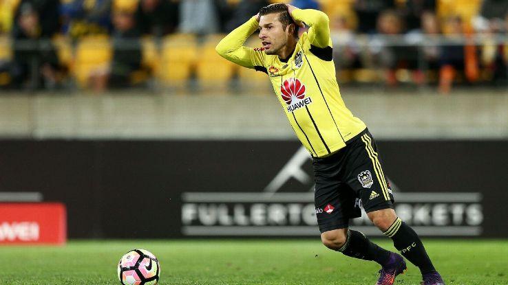 Wellington Phoenix striker Kosta Barbarouses