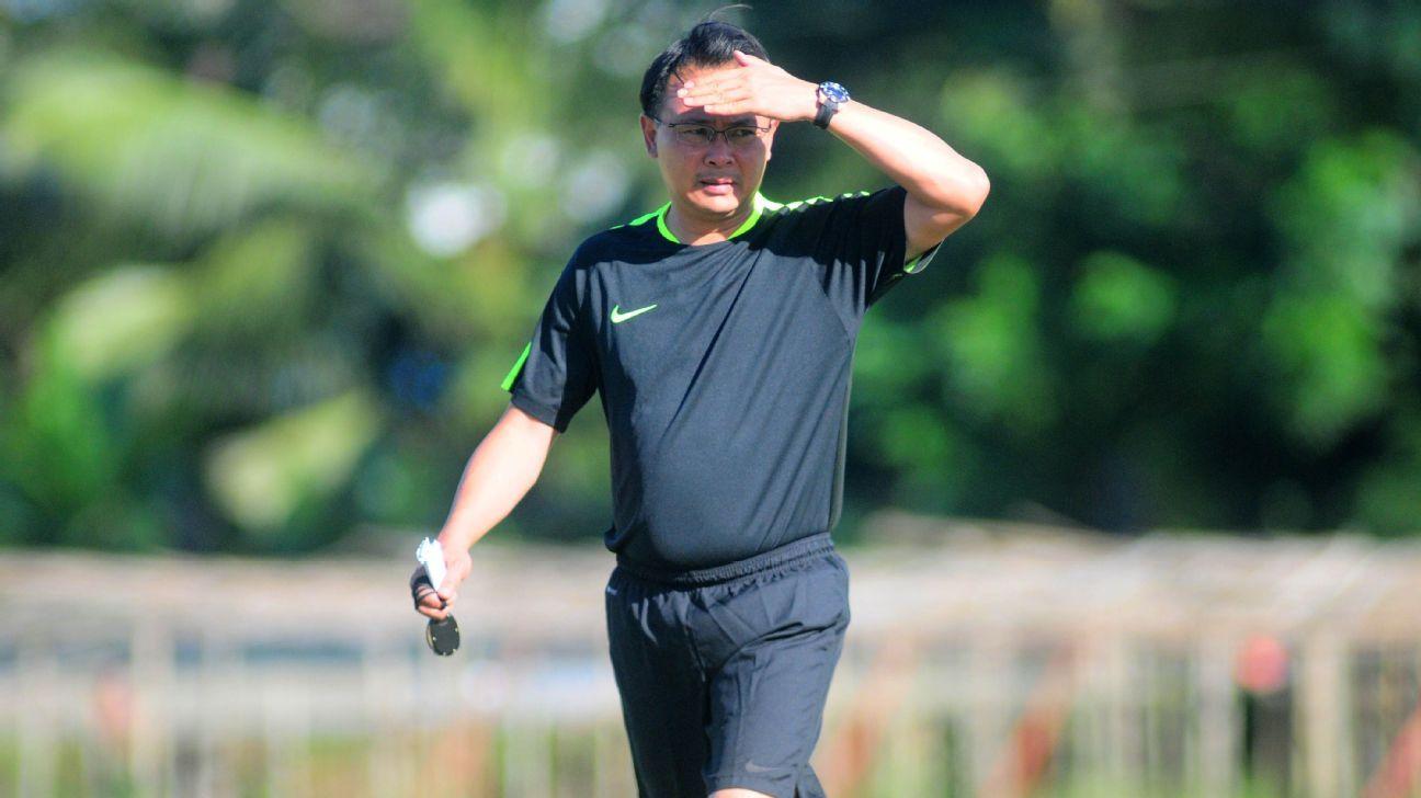 Malaysia coach Ong Kim Swee