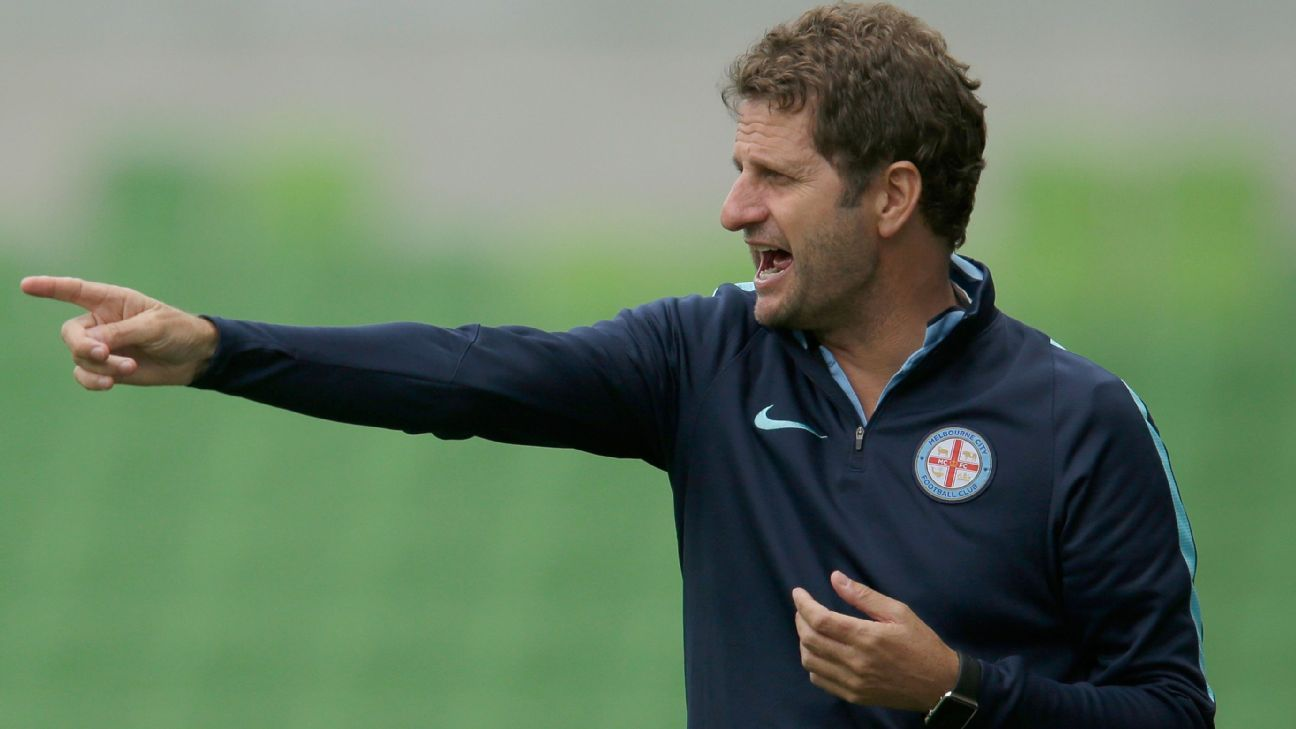 Melbourne City W-League coach Joe Montemurro