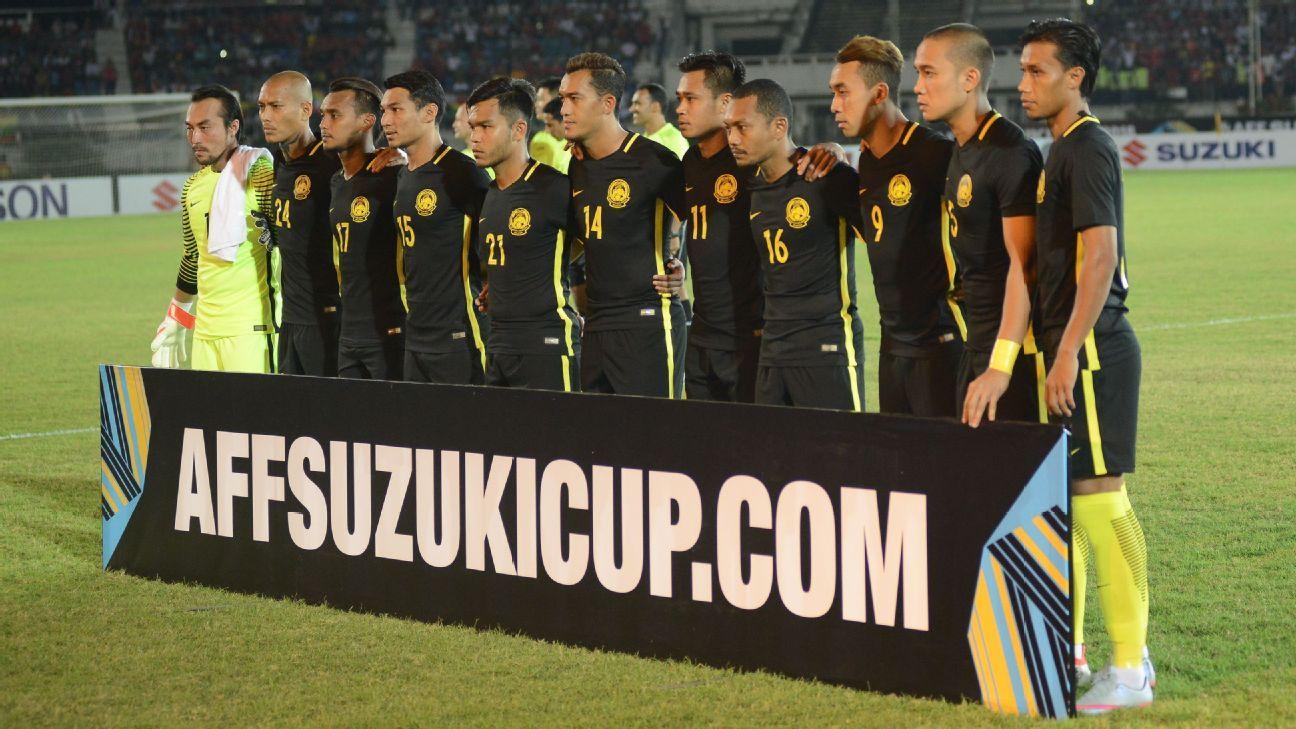 Malaysia team v Myanmar