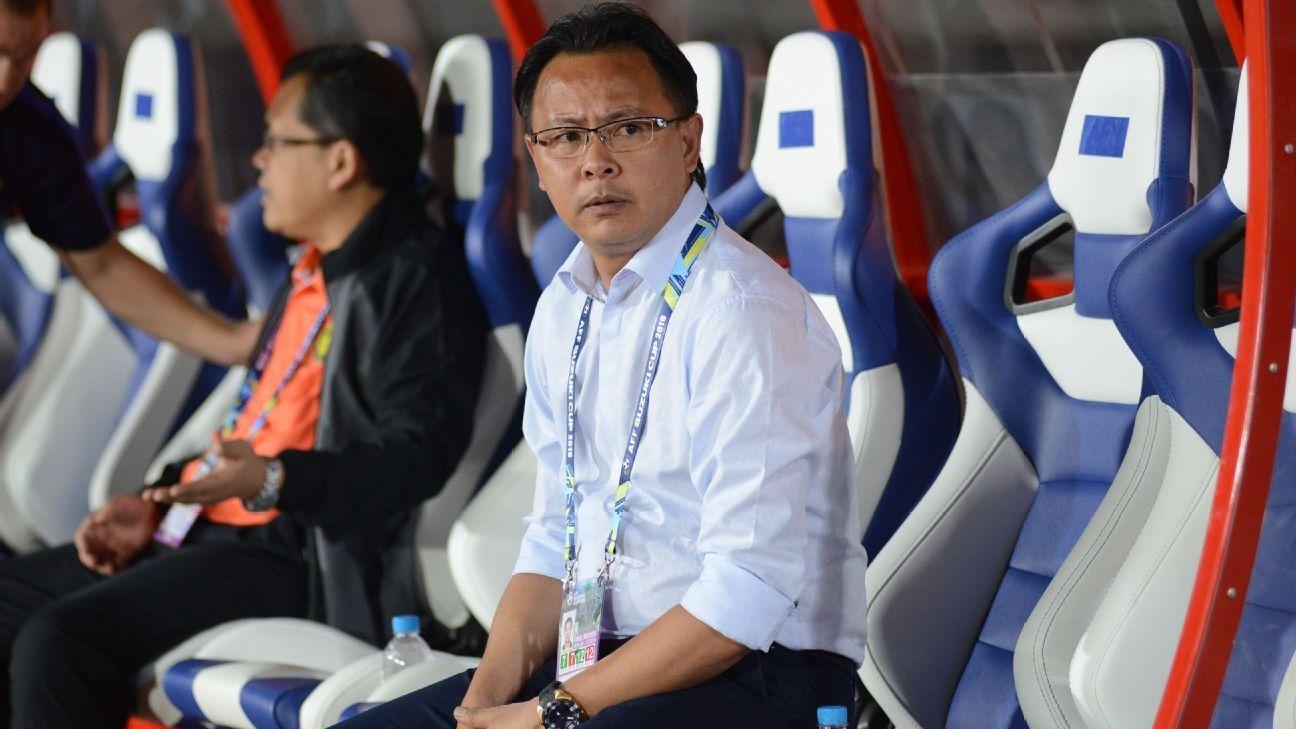 Malaysia coach Ong Kim Swee v Myanmar